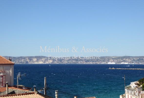 Photo de : Maison de charme avec vue mer à Malmousque