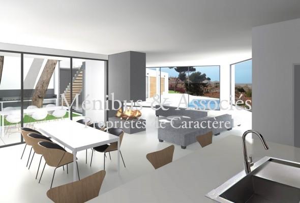 Photo de : Terrain avec projet construction / Roucas Blanc – Bompard