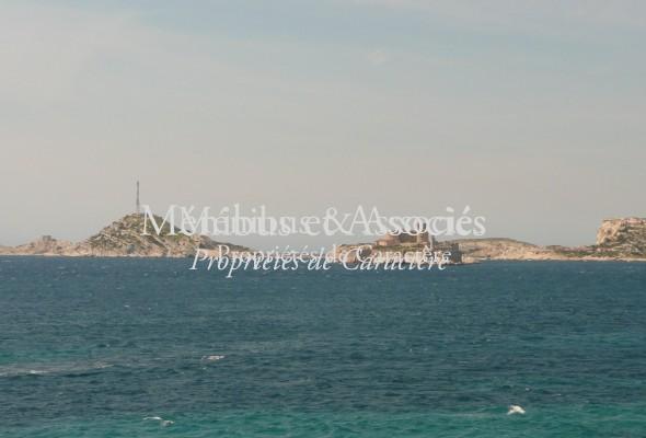 Photo de : Maison à Malmousque avec vue mer
