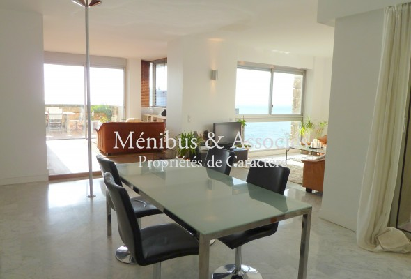 Photo de : Appartement avec terrasses, vue mer