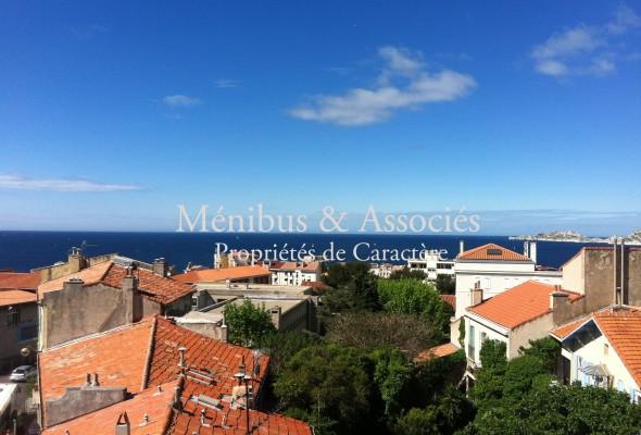Photo de : Duplex meublé avec terrasses, vue mer