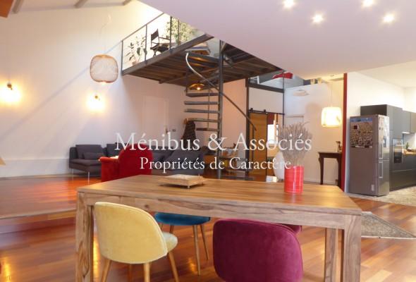 Photo de : Loft en duplex à Saint Victor
